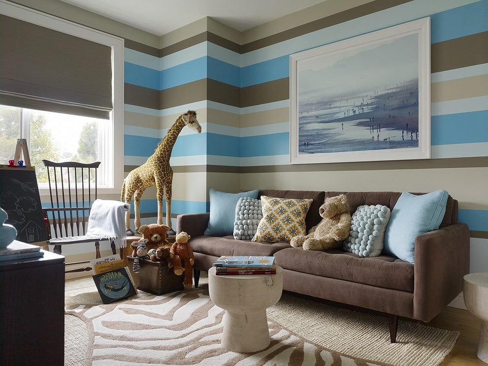 Brown Living Room Ideas 15 Brown and Blue Living Room Design Ideas to Try
