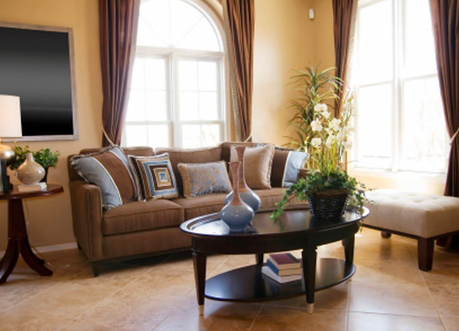 Brown Living Room Ideas 2 Living Room Decor Ideas Brown Leather sofa