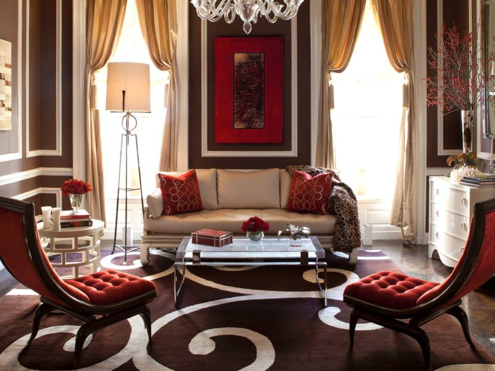 Brown Living Room Ideas 25 Red Living Room Designs Decorating Ideas