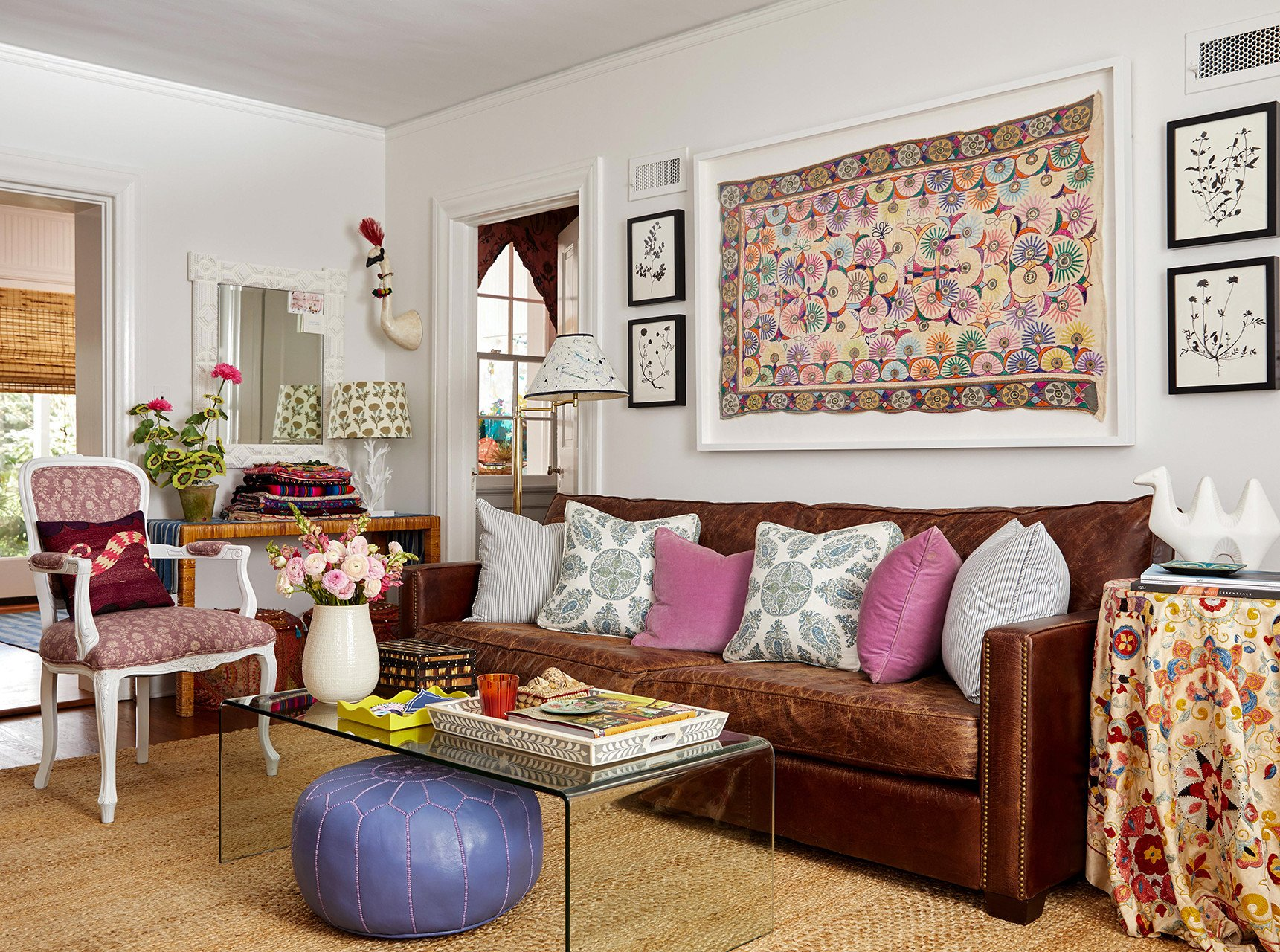 Brown Living Room Ideas Our Favorite Ways to Decorate with A Brown sofa