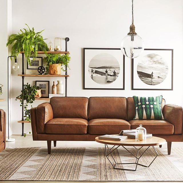 Brown sofa Living Room Decor 10 Beautiful Brown Leather sofas for the Home