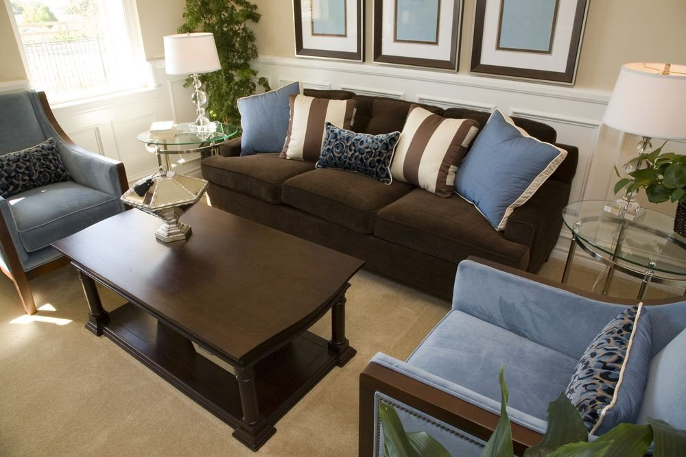 Brown sofa Living Room Decor 25 Cozy Living Room Tips and Ideas for Small and Big
