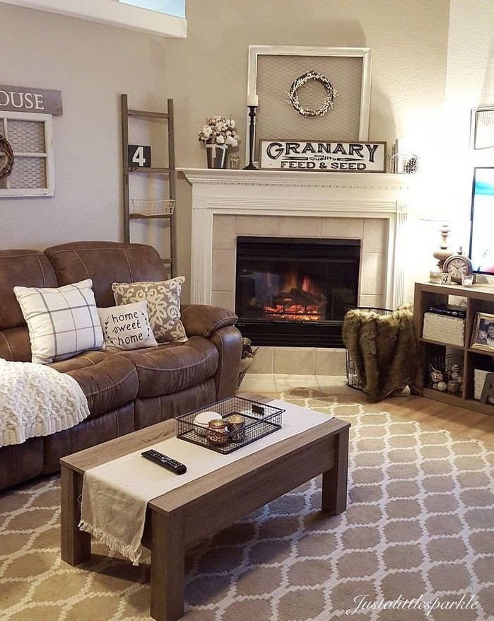 Brown sofa Living Room Decor 27 Beautiful Living Room Furniture Arrangements