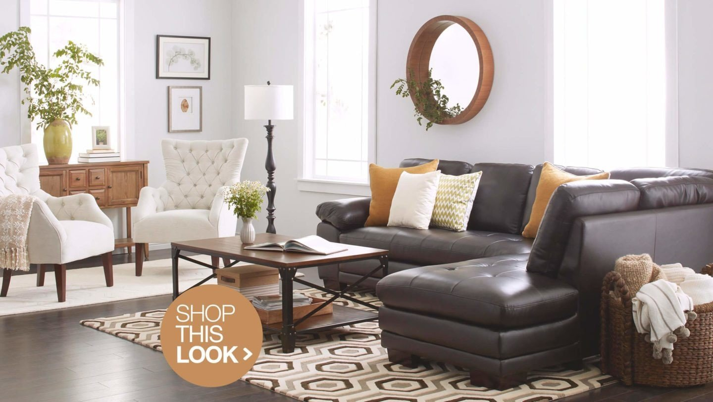 Brown sofa Living Room Decor 6 Trendy Living Room Decor Ideas to Try at Home