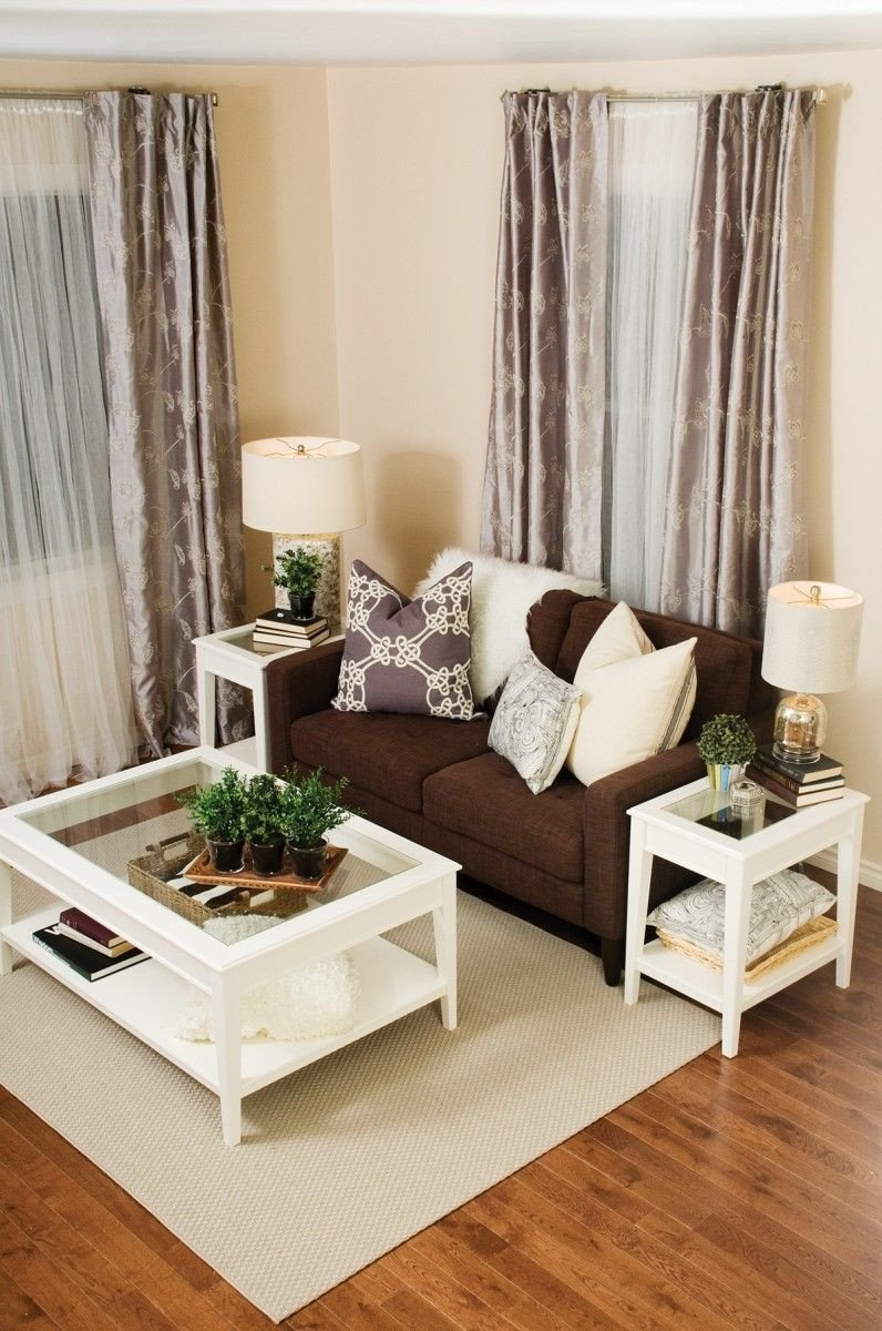 Brown sofa Living Room Decor Contemporary Living Room Decor Ideas Brown Couch with