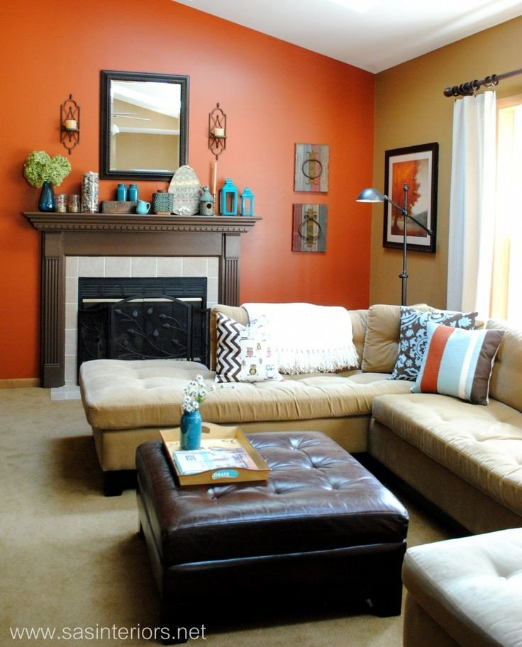 Burnt orange Living Room Decor 16 Best Burnt orange and Teal Living Room Colors Images