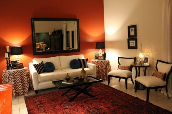 Burnt orange Living Room Decor Burnt orange Living Room Set Zion Star