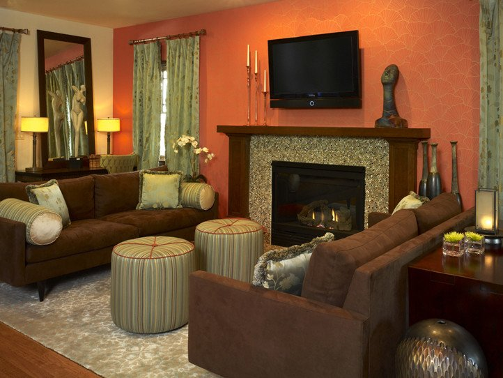 2013 transitional living room
