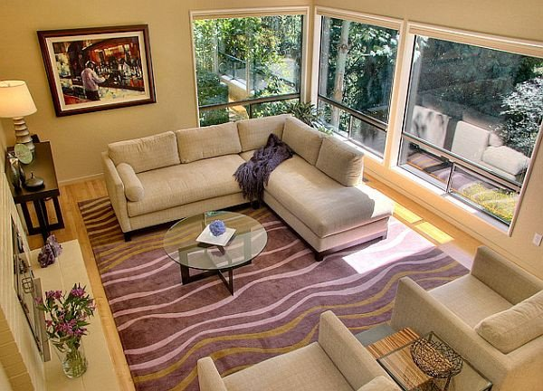 Carpet for Living Room Ideas How to Decorate with Purple In Dynamic Ways