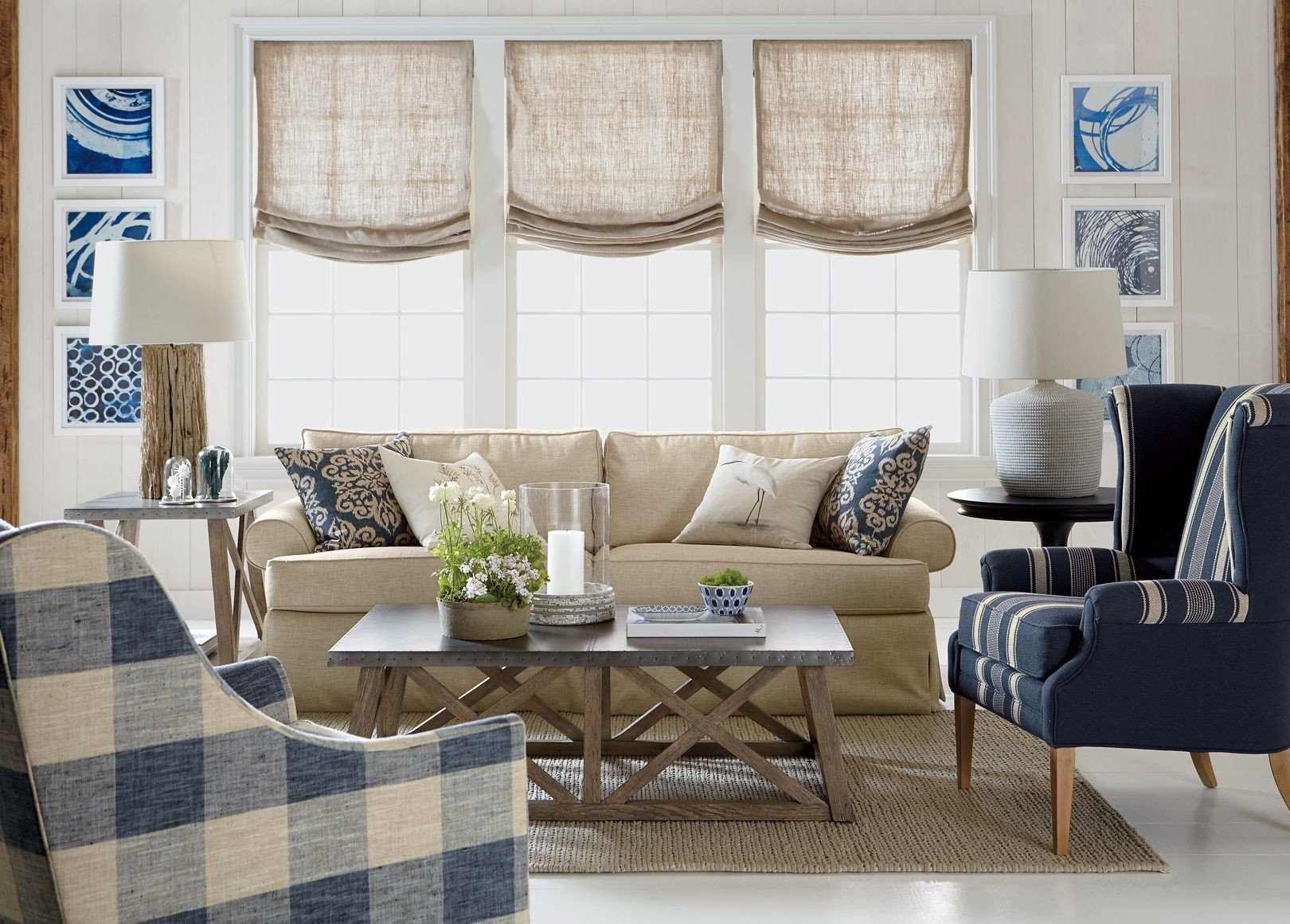 Casual Comfortable Living Room Cool yet Cozy—unfussy and Proud Of It This Casual Living