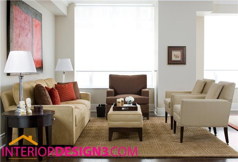 Casual Contemporary Living Room Casual Contemporary Living Room Design