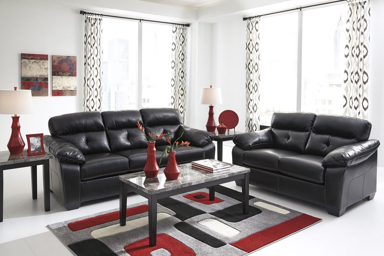 Casual Contemporary Living Room Midnight Black Casual Contemporary Living Room Furniture