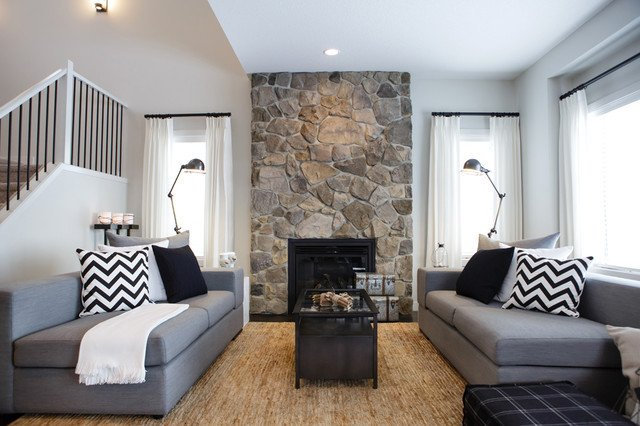 Casual Contemporary Living Room Nfid Cottage Casual Contemporary Living Room Calgary