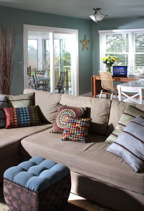 Casual Contemporary Living Room What are some Cozy Casual Decorating Ideas