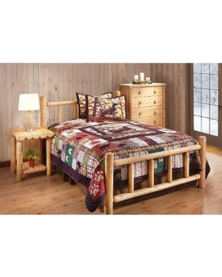 Cedar Log Bedroom Furniture Castlecreek Castlecreek Cedar Log Bed Full From Sportsman S Guide