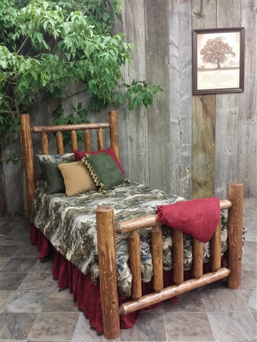 Cedar Log Bedroom Furniture Log Bed Cottage Collection