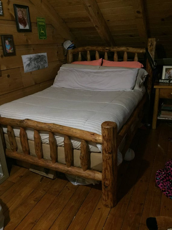 Cedar Log Bedroom Furniture Log Bed