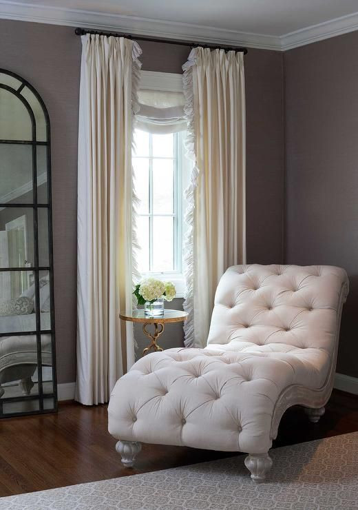 Chaise Chair for Bedroom Bedroom Reading Corner French Chaise Lounge Transitional