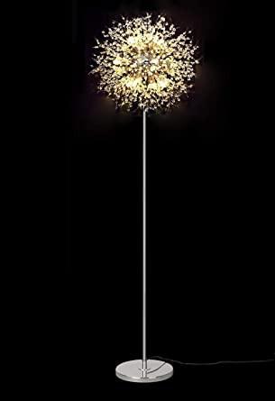 Chandelier for Girls Bedroom Dellemade Td Sputnik Chandelier Floor Lamp Fireworks Silver Floor Lamp for Bedroom Living Room or Girls Room