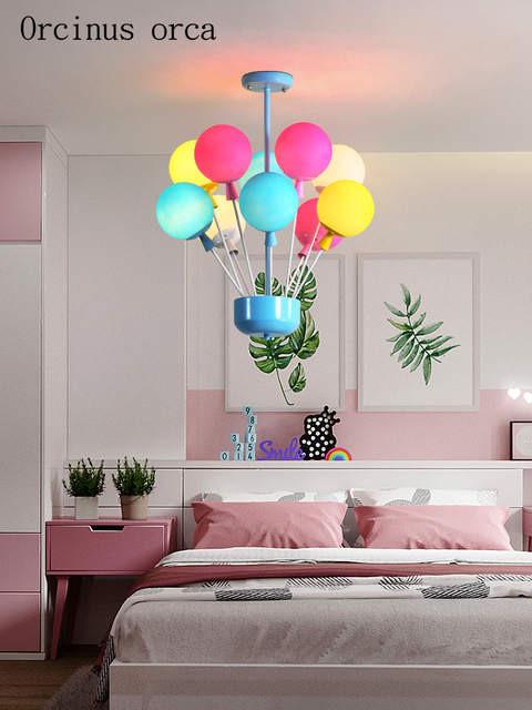 Chandelier for Girls Bedroom Us $154 86 Off Cartoon Creative Balloon Chandelier Boys Girls Bedroom Children S Room Lamp Modern Romantic Colorful Balloons Chandeliers Pendant