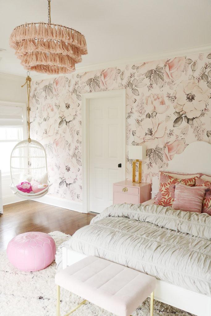 Chandelier for Teenage Girl Bedroom Girl Teen Bedroom with Tassel Chandelier Hanging Chair