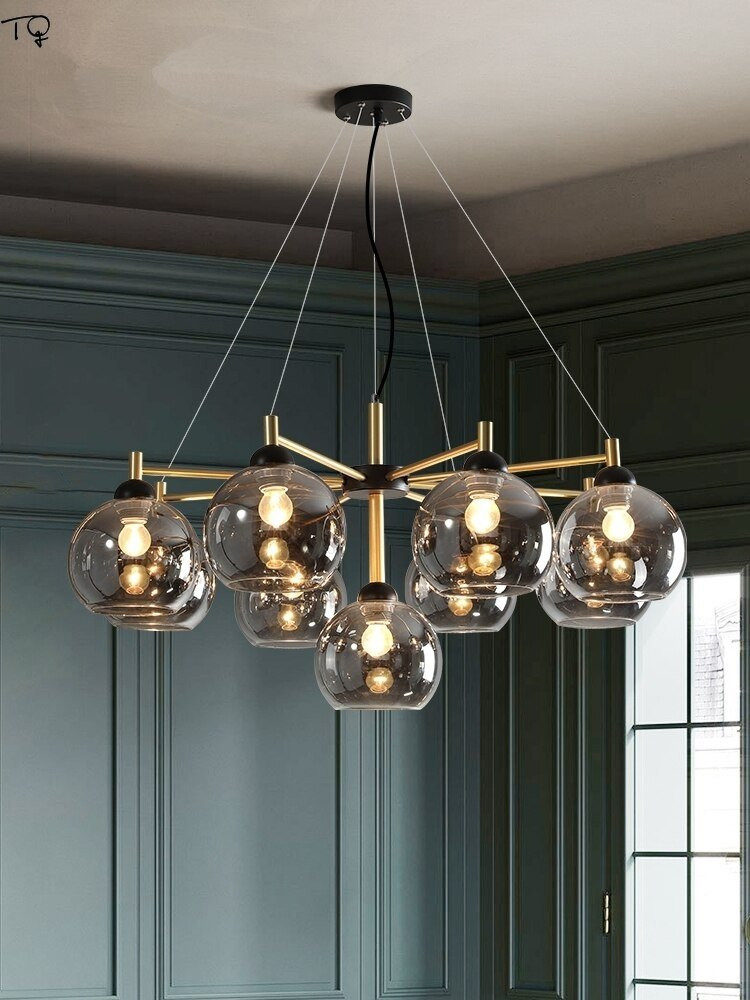 Chandelier Light for Bedroom nordic Luxury Minimalist Industrial Chandelier Lighting Postmodern Suspension Luminaire Living Room Restaurant Bedroom Studio