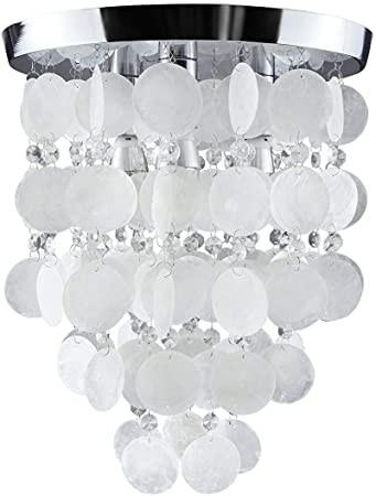 Chandelier Lighting for Bedroom Haixiang Girl S Bedroom Crystal Shell Pendant Lamp Chandelier Lighting Ceiling Light White
