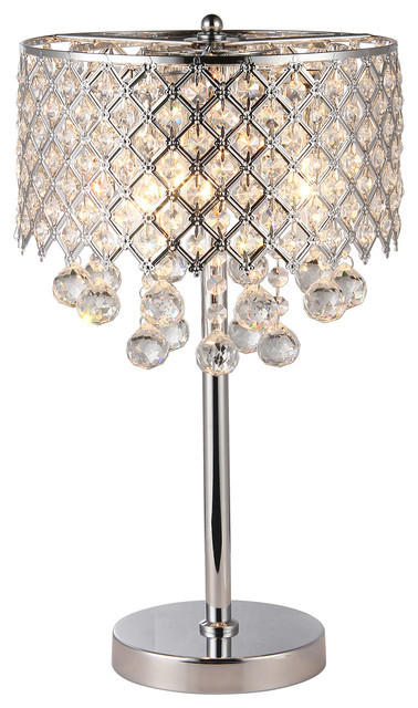 Chandelier Lighting for Bedroom Marya 3 Light Chrome Round Crystal Chandelier Bedroom Table Lamp