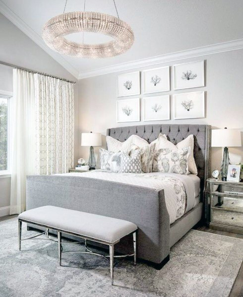 Chandelier Lighting for Bedroom top 70 Best Bedroom Lighting Ideas Light Fixture Designs