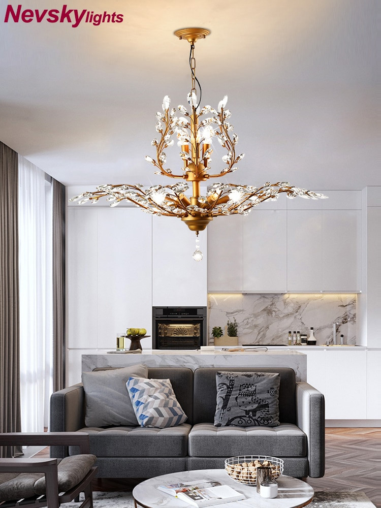 Chandelier Lighting for Bedroom Us $95 65 Off Modern Lustre Crystal Chandelier Lighting Living Room Led Ceiling Chandeliers Light Crystal Pendant Lamps Ceiling Lamps
