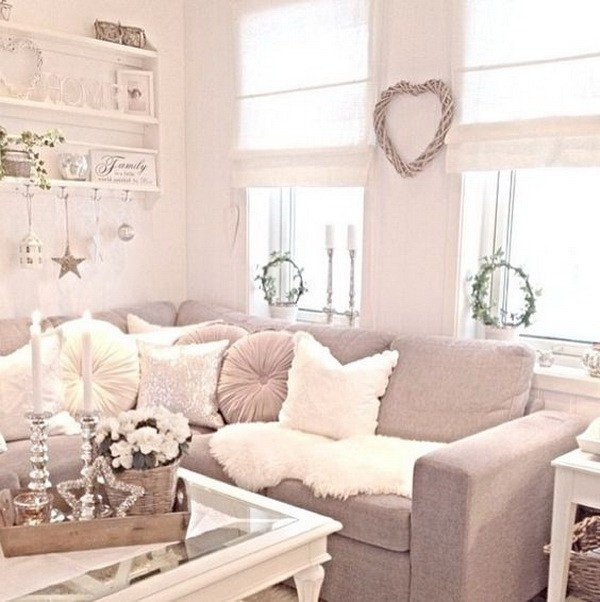 Chic Small Living Room Ideas 25 Charming Shabby Chic Living Room Decoration Ideas