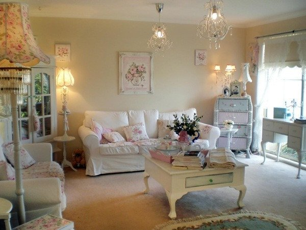 Chic Small Living Room Ideas La Décoration D Une Salon Shabby Chic