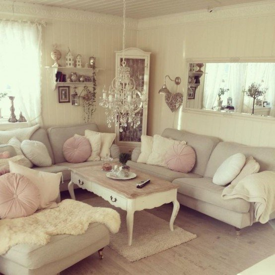 Chic Small Living Room Ideas top 18 Dreamy Shabby Chic Living Room Designs