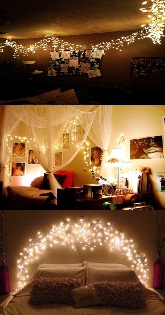 Christmas Light for Bedroom Ideas to A Romantic Bedroom with Christmas Light