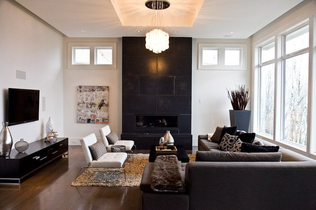 Classic Contemporary Living Room Modern Classic Modern Living Room Vancouver by