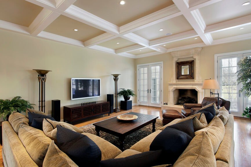 Classy Comfortable Living Room 36 Elegant Living Rooms that are Richly Furnished & Decorated