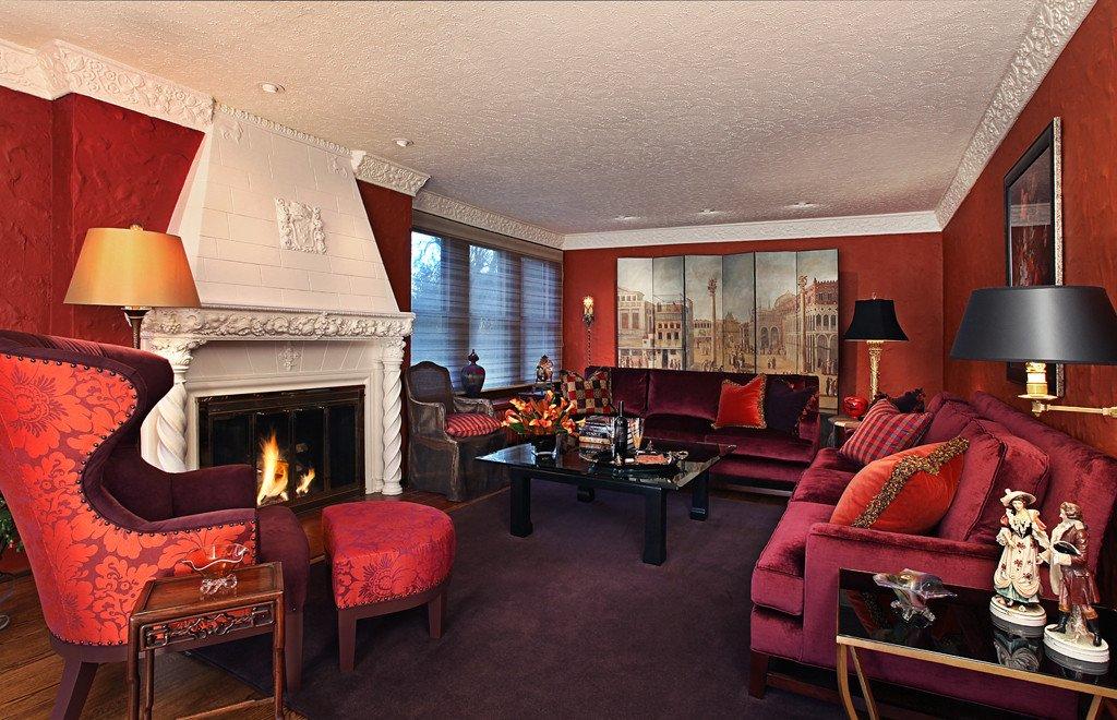 Classy Comfortable Living Room Warm Elegant fortable Living Room Urso Designs Inc
