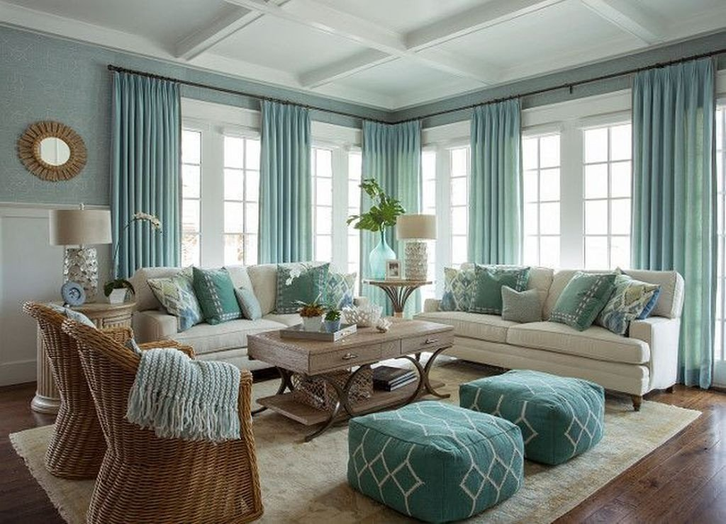 Coastal Comfortable Living Room 30 fortable Coastal Living Room Interior Ideas
