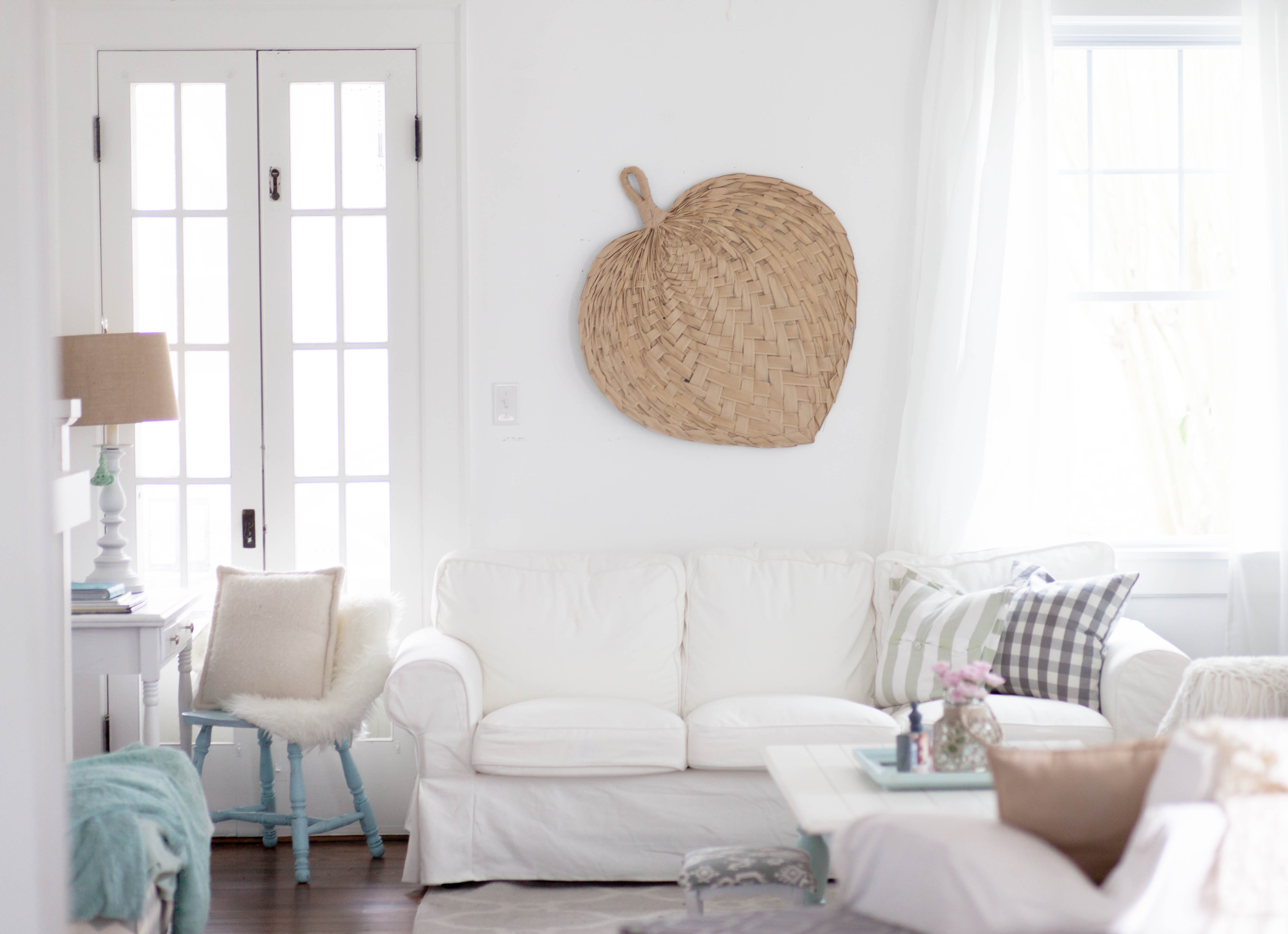 Coastal Comfortable Living Room Home Of the Month Restless Arrow Simple Stylings