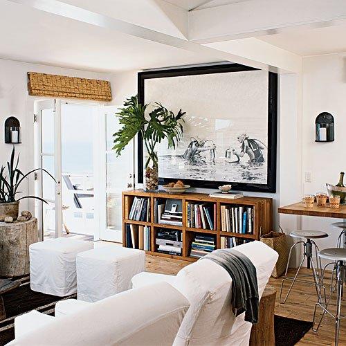 Coastal Contemporary Living Room 20 Amazing Living Room Makeovers Coastal Living