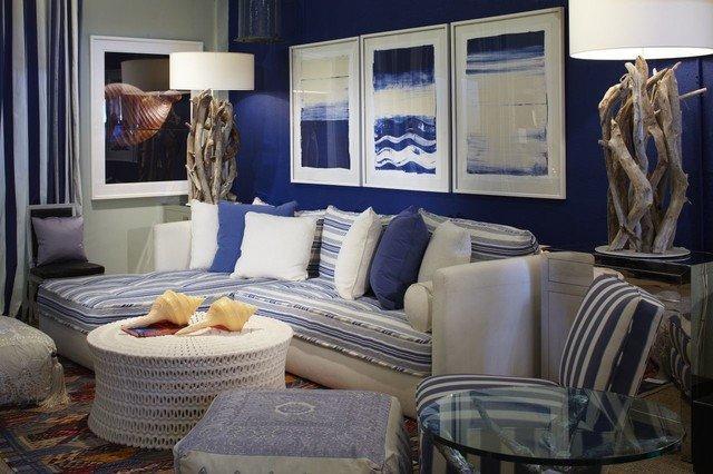 Coastal Contemporary Living Room Coastal Blue Living Room Contemporary Living Room