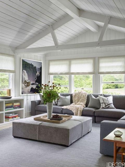 Coastal Contemporary Living Room Coastal Living Rooms Coastal Decor