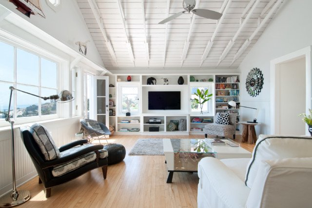 Coastal Contemporary Living Room Modern Beach House Contemporary Living Room Los