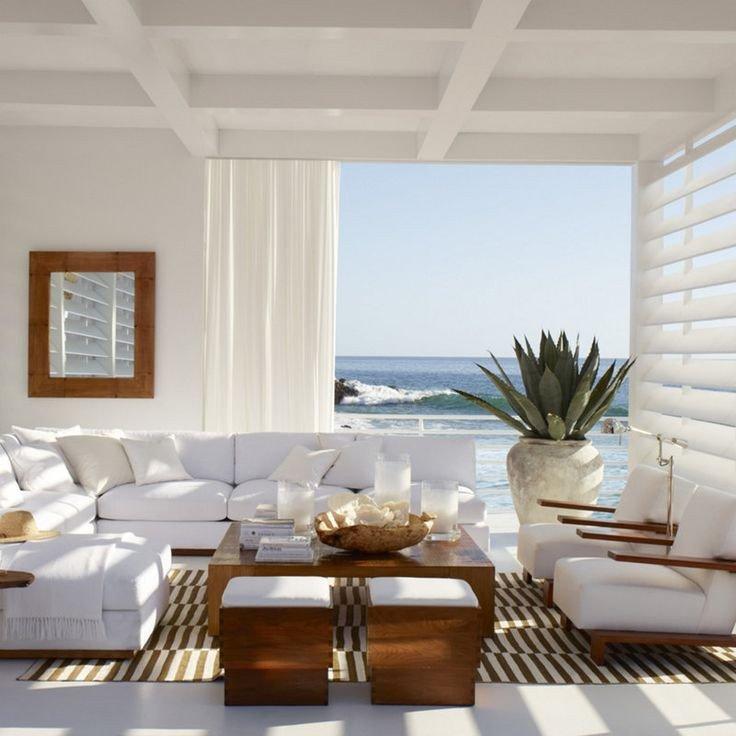 Coastal Contemporary Living Room Modern Coastal Decor