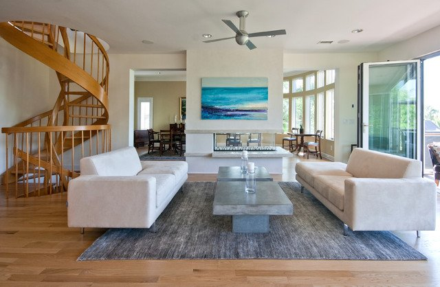 Coastal Contemporary Living Room Modern island Beach Home Living Room Tropical Living