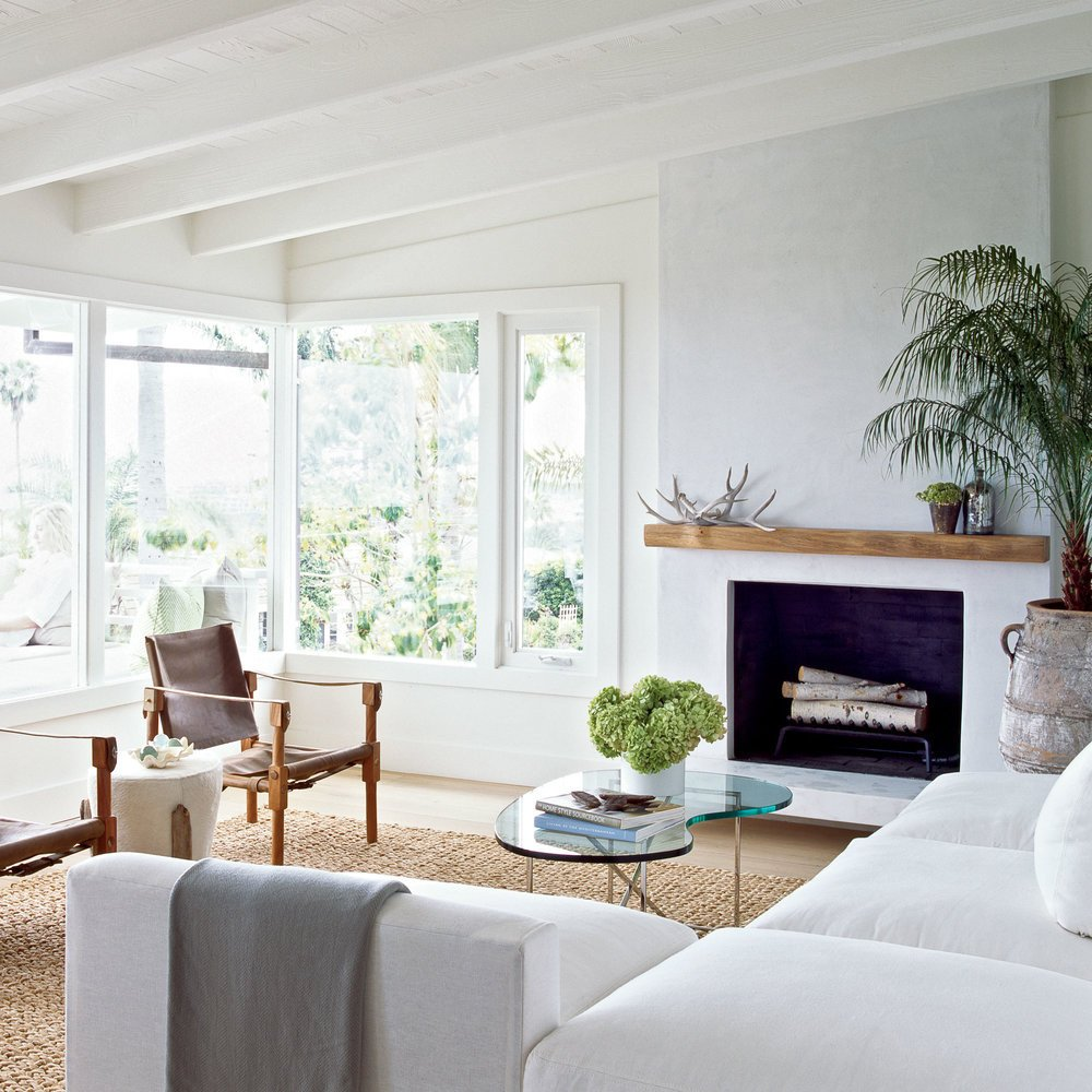 Coastal Contemporary Living Room Rustic Meets Modern Living Room How to Decorate with