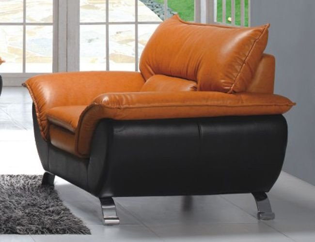 Comfortable Chairs Living Room fortable and Contemporary Half Leather Living Room Arm