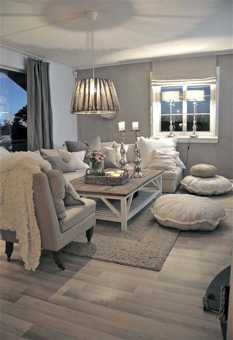 Comfortable Chic Living Room 34 fortable Chic Farmhouse Living Room Design Ideas
