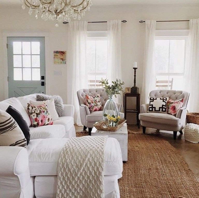 Comfortable Chic Living Room 45 Simple and fortable Living Room Design Ideas