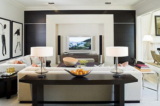 Comfortable Chic Living Room fortable Stylish Living Room Designs with Tv Ideas 15